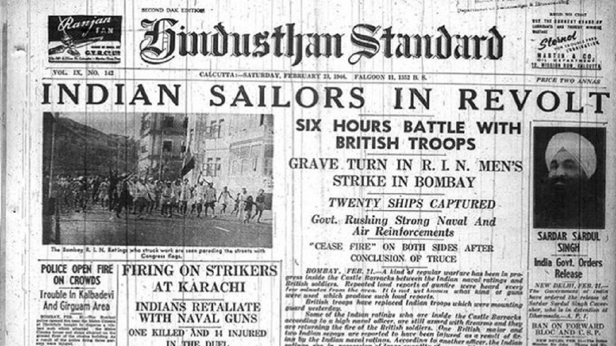 Indian Naval Revolt, 1946 - India's Stories From Indian Perspectives